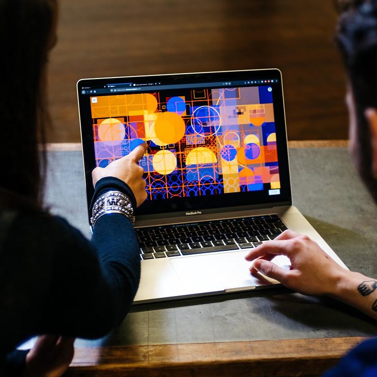 Shemza Digital - Digital Painting & Co-creation Workshop with Aphra Shemza