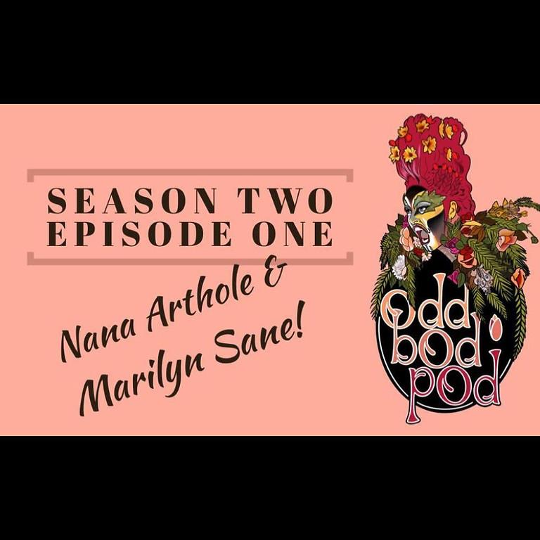 Odd Bod Pod - S2 E1 of the podcast