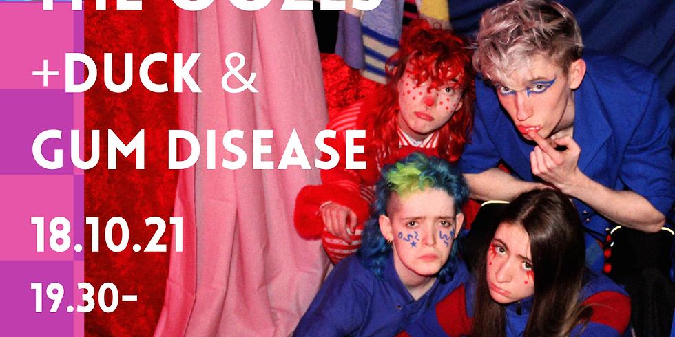 DINA pres: The Oozes + DUCK + Gum Disease