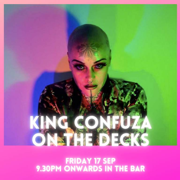 King Confuza on the Decks - after All about Jamie