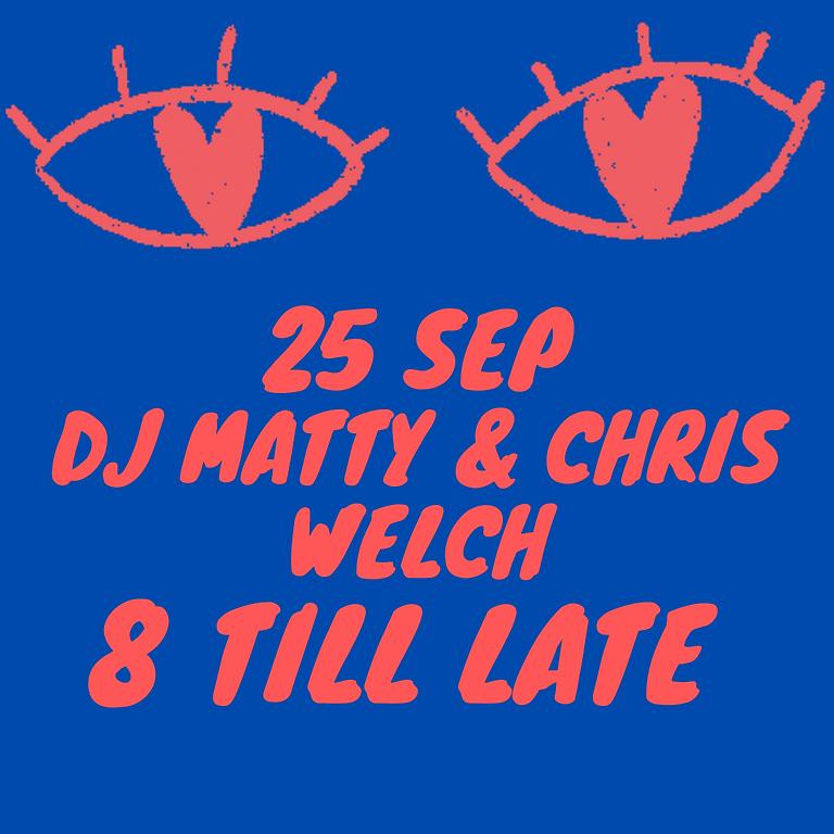 DJ Matty & Chris Welch - Jazz, Broken Beat, Afro Beat