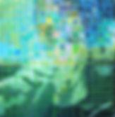 Gitte Levin mand akryl 60 x 60 kr. 2.400