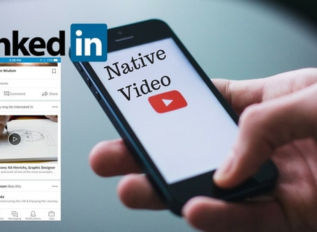 LINKEDIN CATCHING UP WITH NATIVE VIDEO ADS