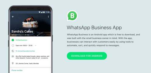 WHATSAPP OFFICIALLY LAUNCHES ITS APP FOR BUSINESSES IN SELECT MARKETS