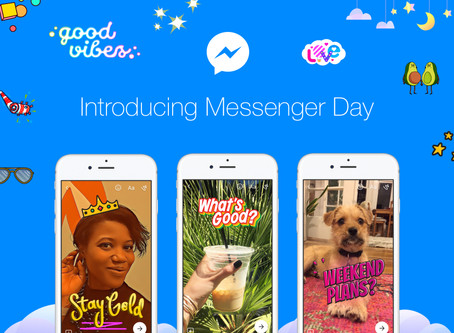FACEBOOK: THE LAUNCH OF MESSENGER DAY!!