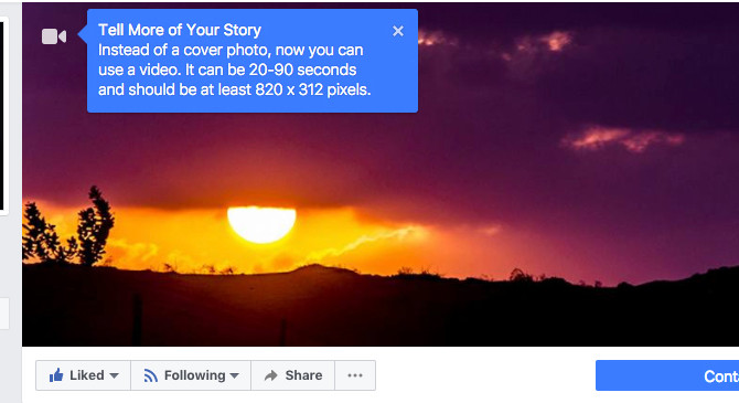 FACEBOOK COVER VIDEOS ARE HERE !