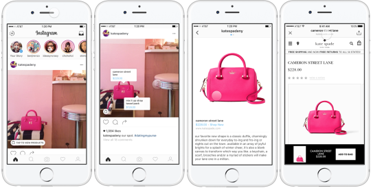 SHOPPING WILL BE EASIER WITH INSTAGRAM