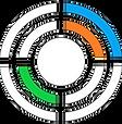 three colour target circle transparent.p