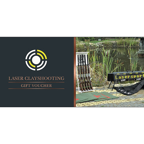 Laser clay shooting gift voucher (10 People)