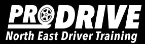 ProDrive Logo Driving Lessons North Shields Driving School Blyth Driving Instructor Cramlington