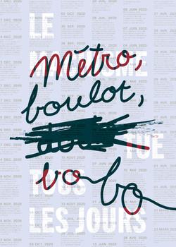 Camille Dufaud - Métro Boulot Bobo - 2021