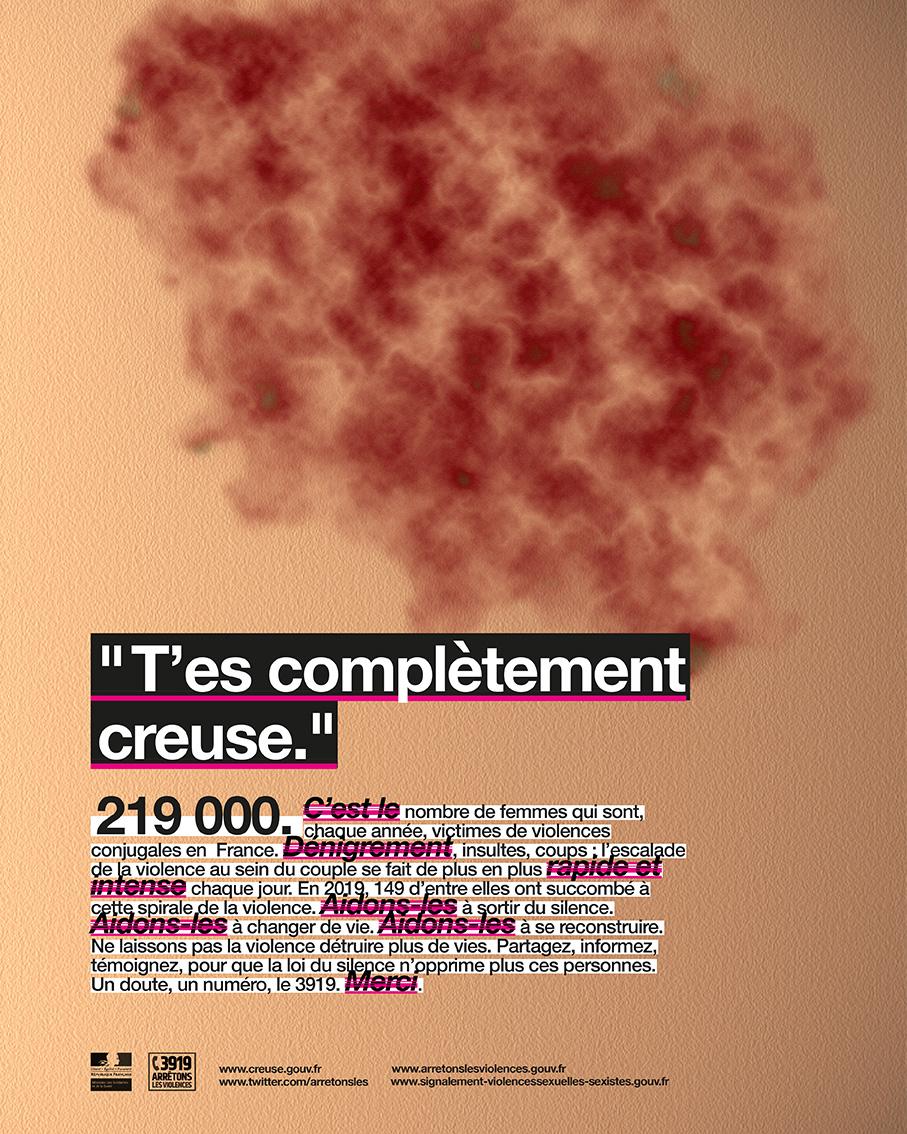 """Julien Ghisleni - """"T'es complètement creuse"""" - 2019/2020"""