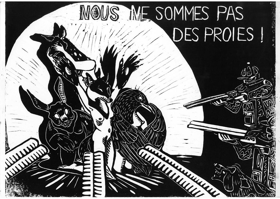 Maud Fermé - Nous ne sommes pas des proies! - 2021