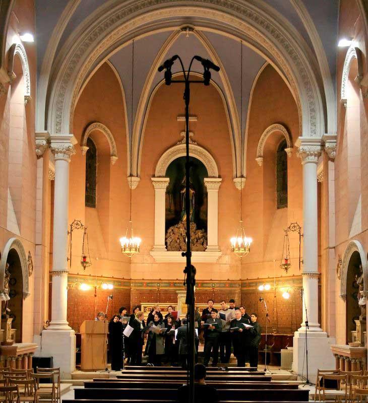 הקלטה במנזר רטיסבון-ירושלים
