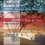 David E. Levine Sings Handel, Mozart, Jan�cek