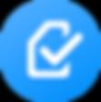 ALLinONE Provisioning portal icon sim card with tick
