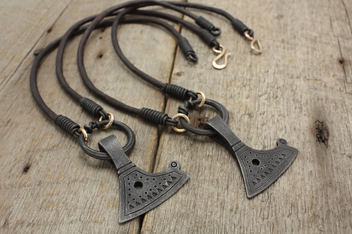 Baltic axe necklace for Steve