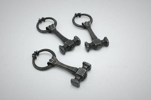 Blacksmith hammer pendant