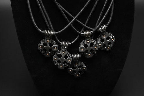 3 Celtic cross necklaces (Reserved for Nate)
