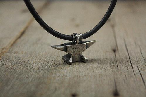 North German Anvil necklace