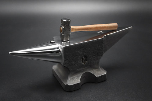Hand forged mini anvil