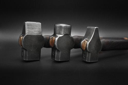 (Jeff Boatman) 3lbs. Rounding, cross, or straight peen hammer