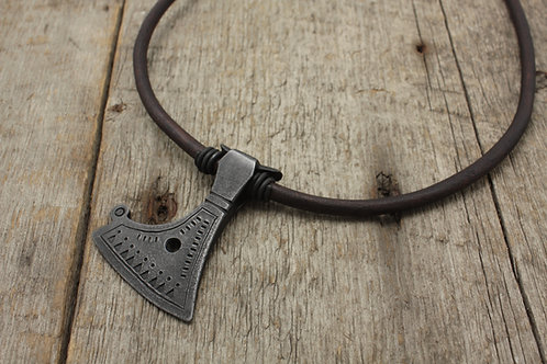 Baltic axe necklace
