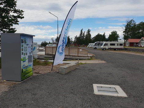 Askeviks Camping o Stugor har investerat i en CamperClean!