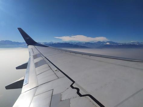 Reporte de vuelo: Santiago-Montevideo por Aerolíneas Argentinas