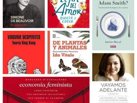 8 libros para el #8M