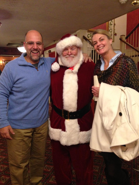 Santa Claus! Sandwich, MA