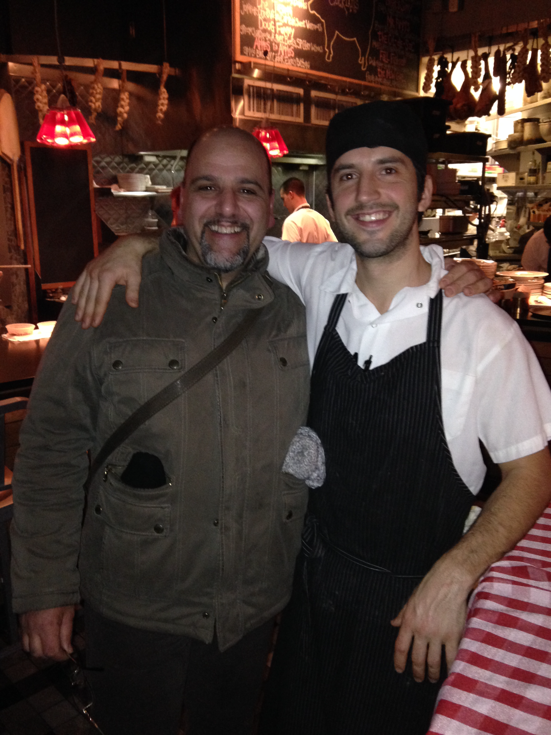 Chef Lorenzo and Kevin O'Donnell