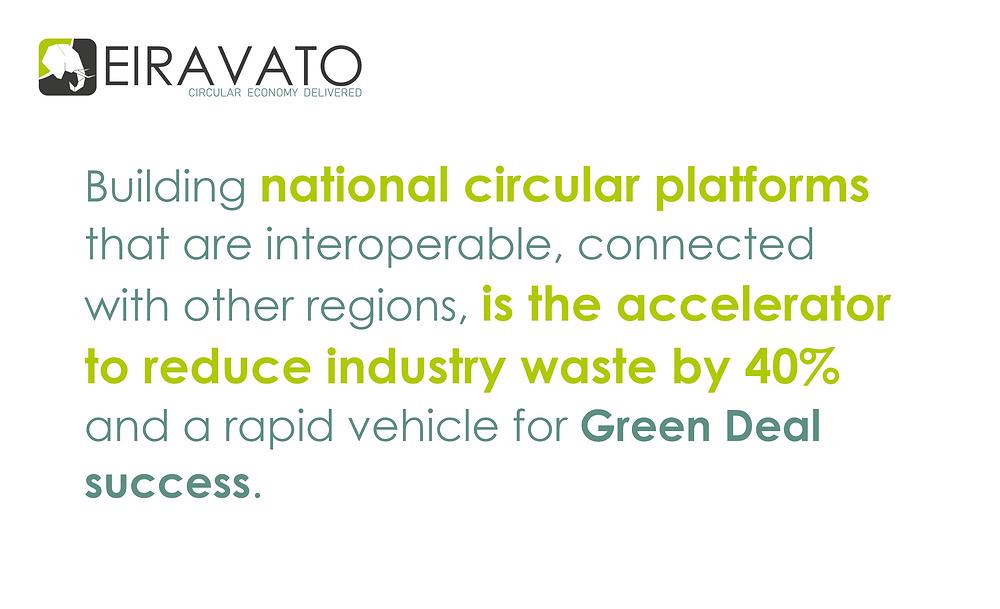 eiravato explains how to reach green deal success