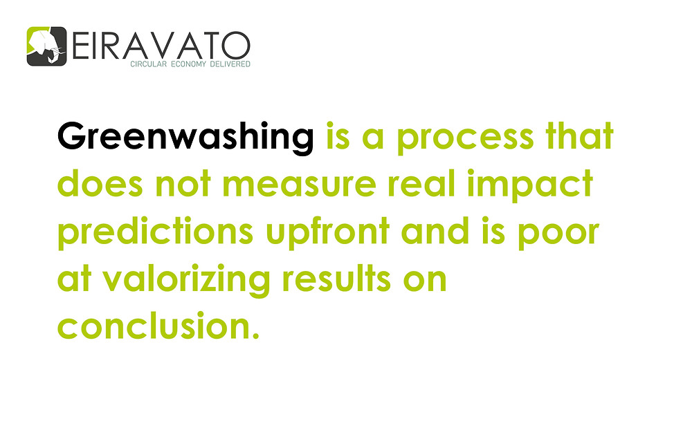 definition of greenwashing