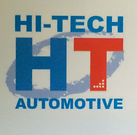 Hi tech automotive logo
