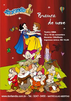 Teatro Branca - Escola Dorilândia