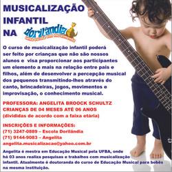 Banner Music. - Escola Dorilândia