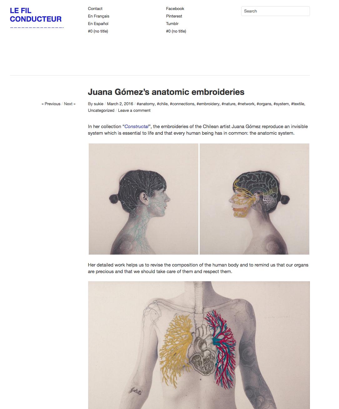 Juana Gomez-le fil conducteur