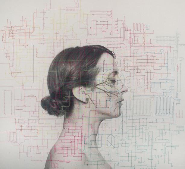 mapa genetico1-bordado y dibujo sobre fo