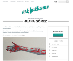 Juana Gomez- Art fucks me