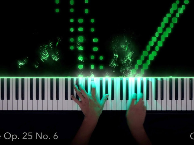 Chopin: Etude Op. 25 No. 6 in g# minor