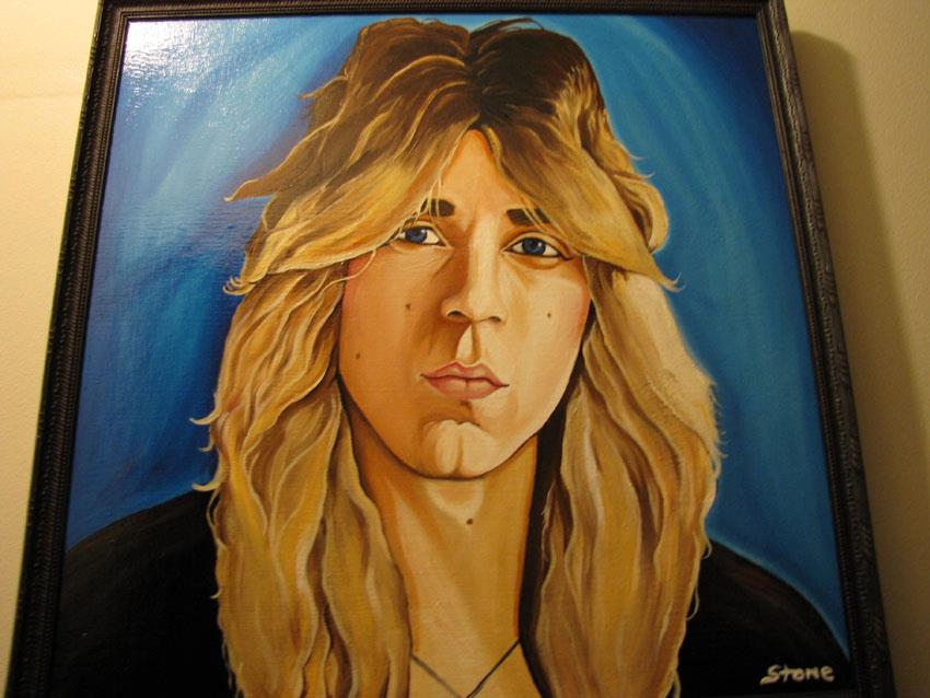 Portrait of Randy Rhoads