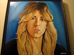 Portrait of Randy Rhoads