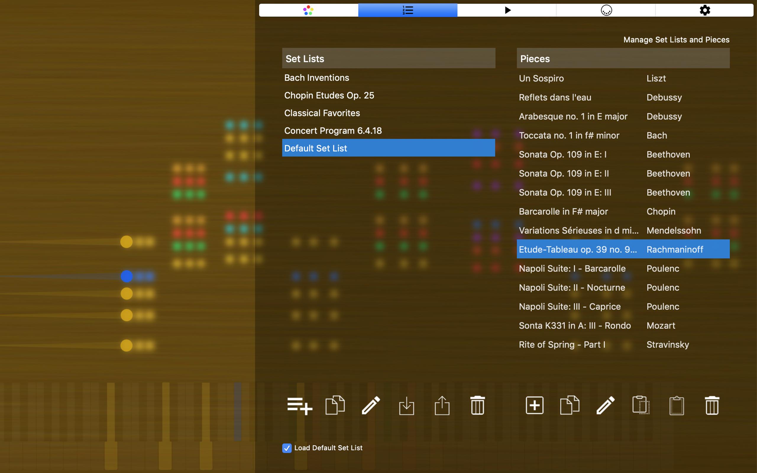 SeeMusic Visual Piano macOS and iOS App | visual music design