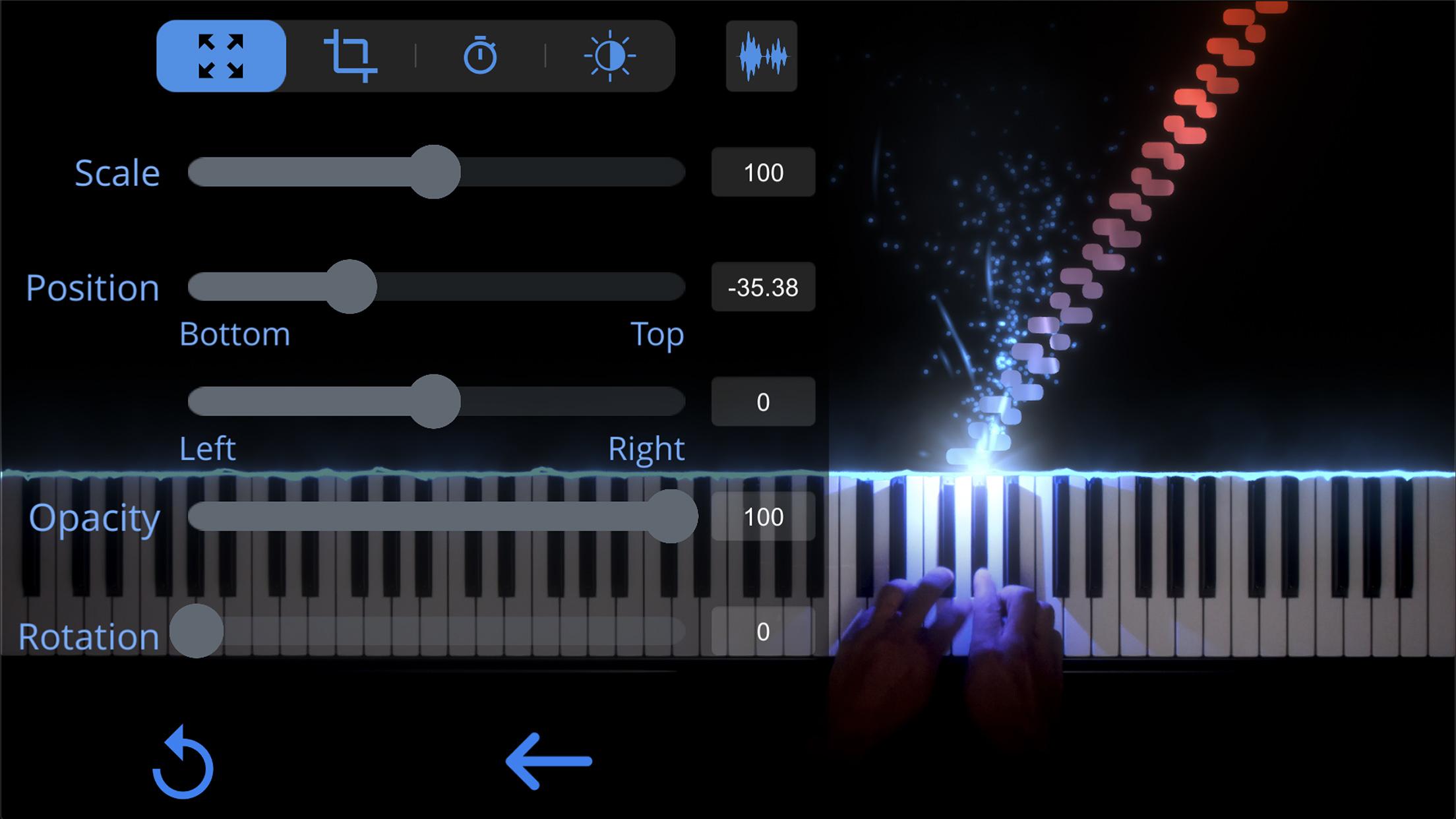 SeeMusic Video Settings