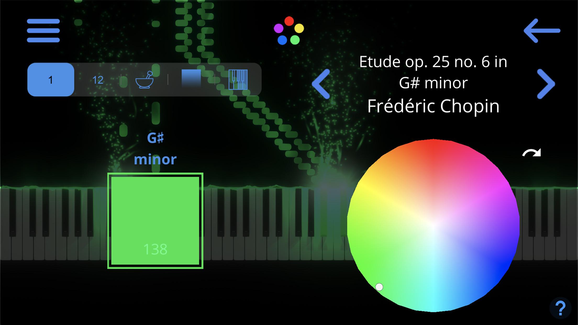 SeeMusic Color Settings