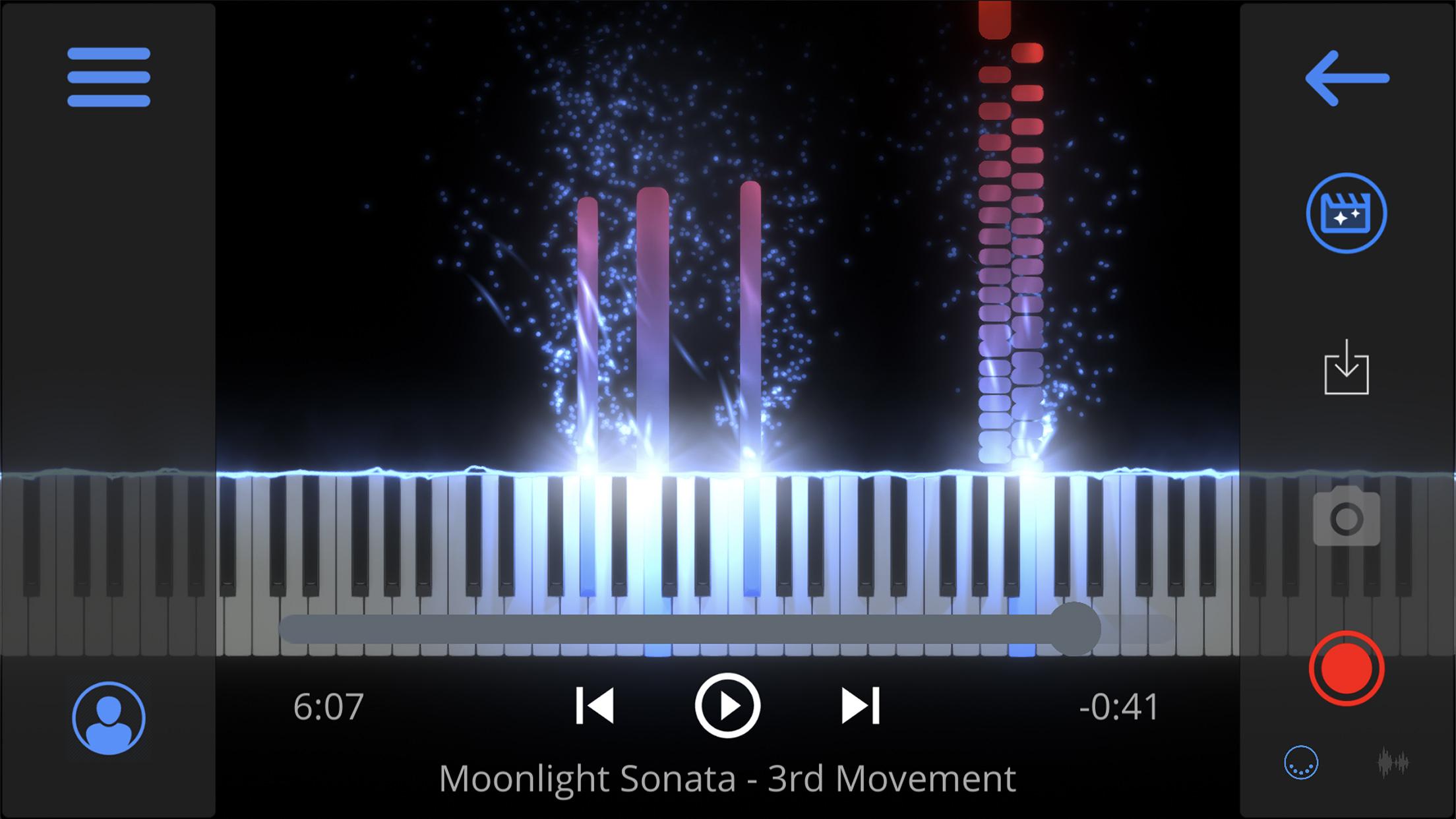 SeeMusic Main Screen