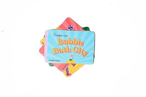 #staycation - Bubble bath city