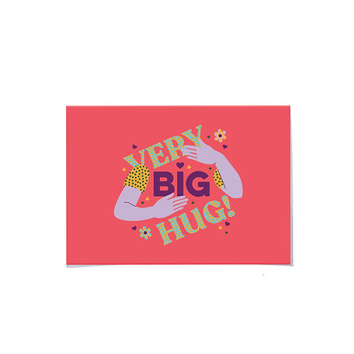 very big hug