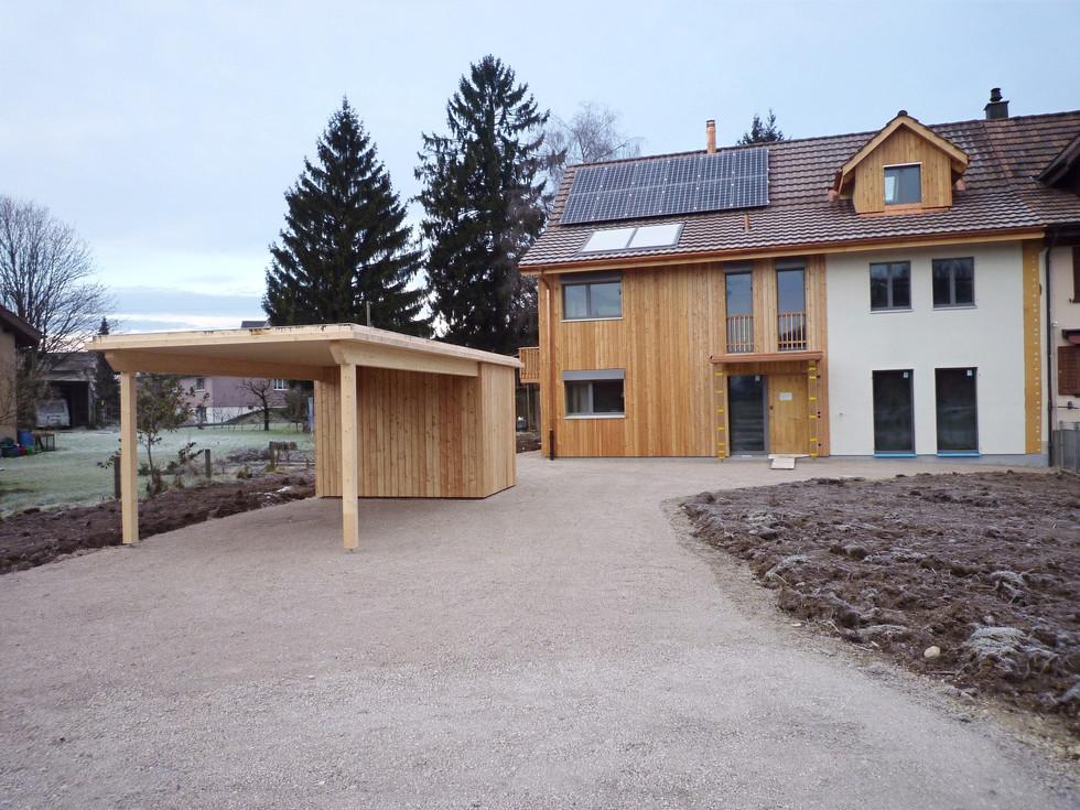 Ersatzneubau Wohnhaus, Münchwilen